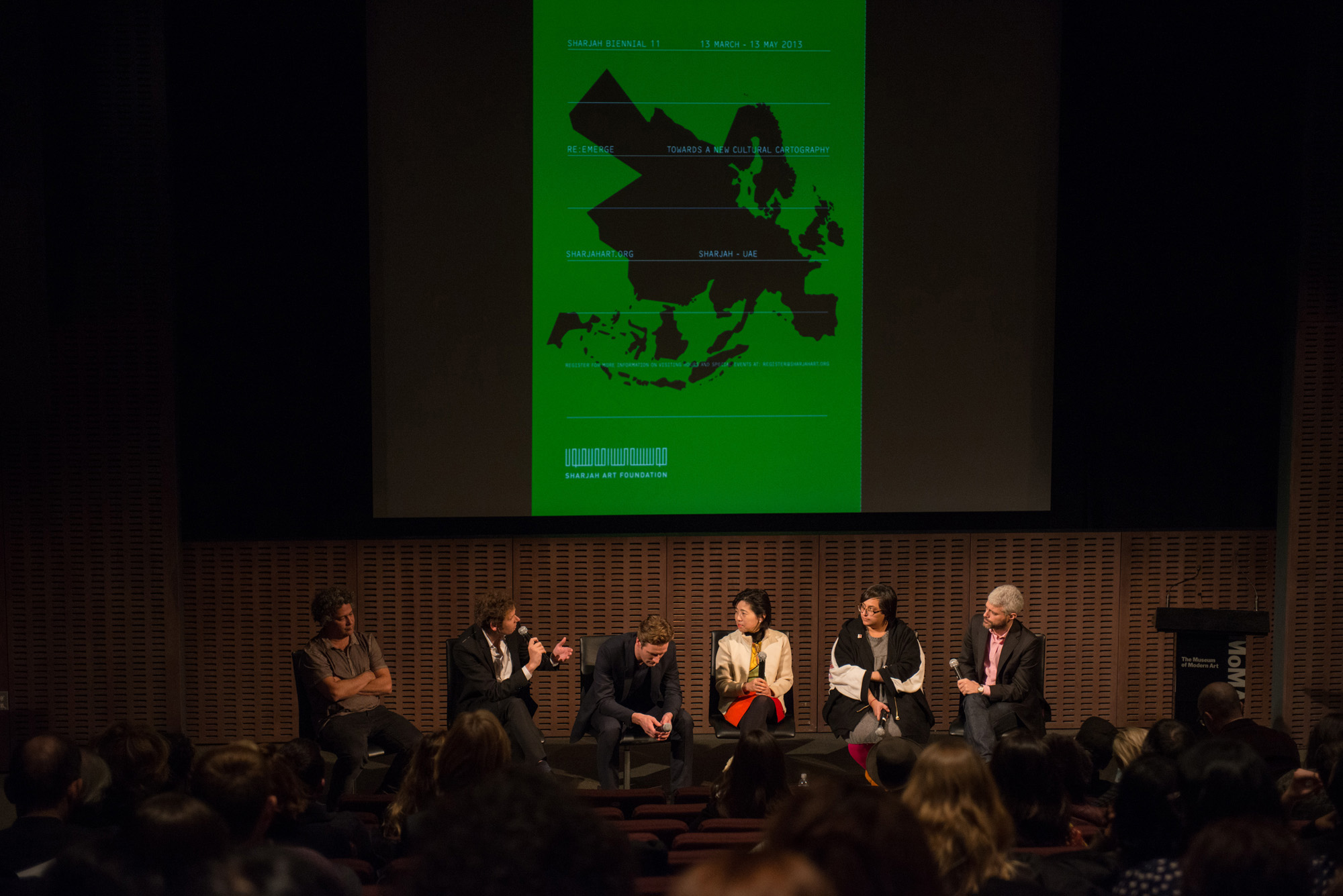 Sharjah Biennial 11 Panel Discussion at MoMA Image