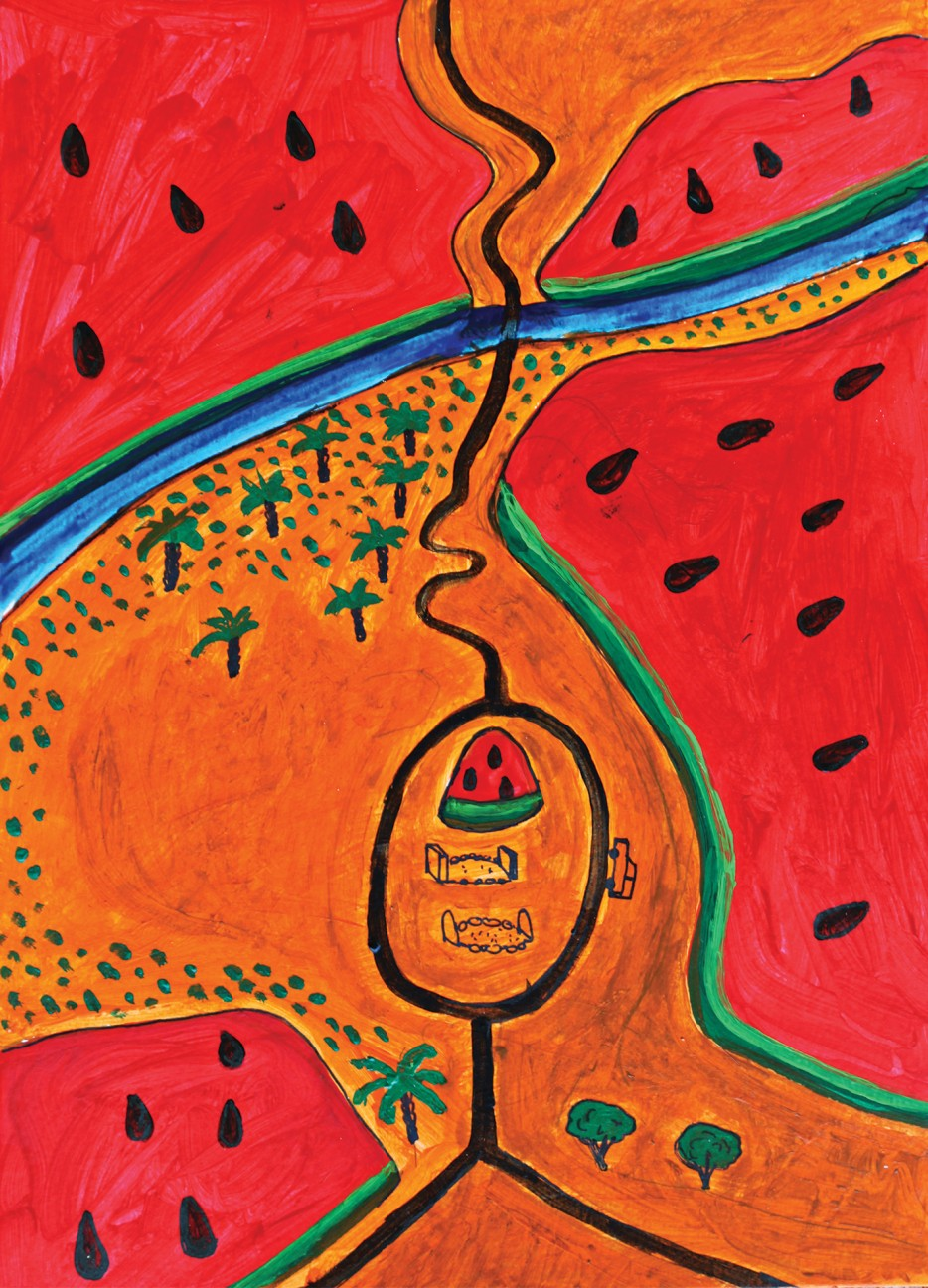 The Comparative Journey, The Watermelon Series Image