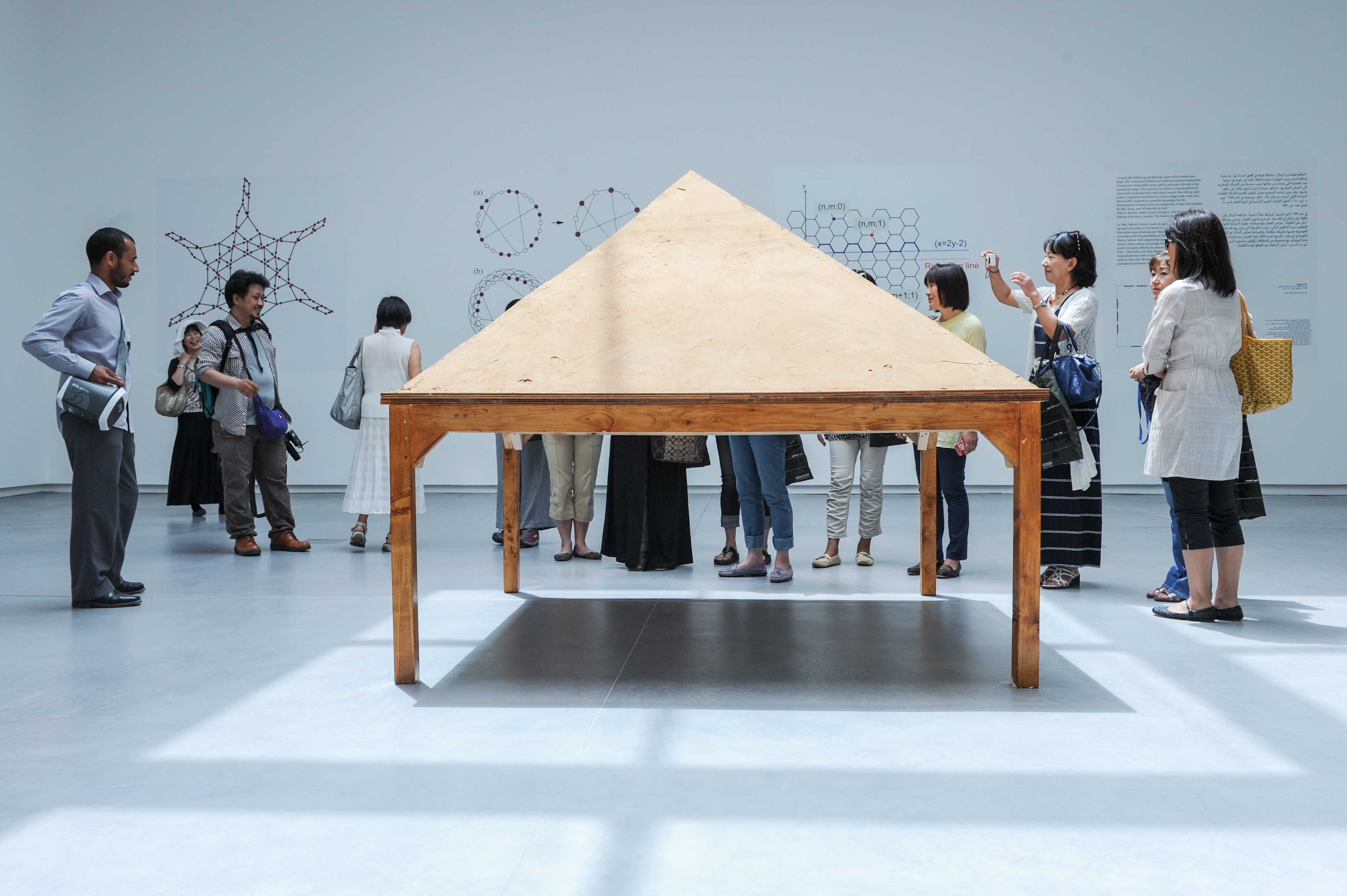 Sand on Table as Model of 'Self-Organising Criticality' Image