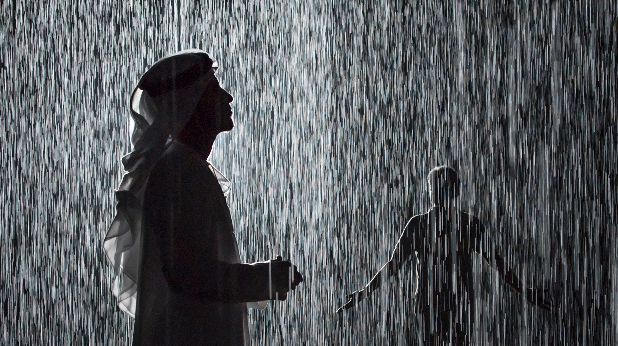 Rain Room Opens in Sharjah