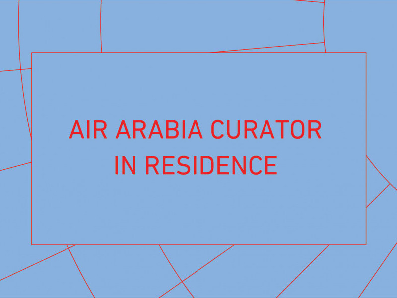 Air Arabia Curator In Residence – A Tripoli Agreement