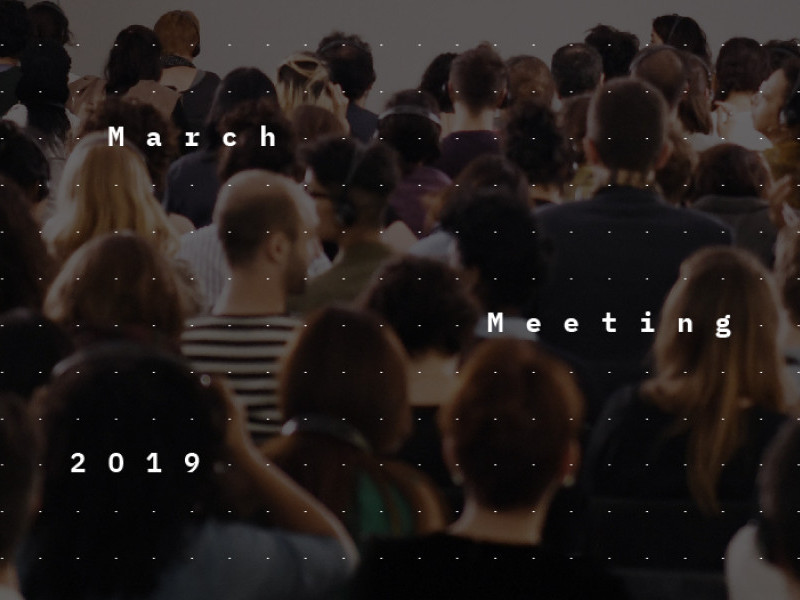 March Meeting 2019: Beyond The Echo Chamber