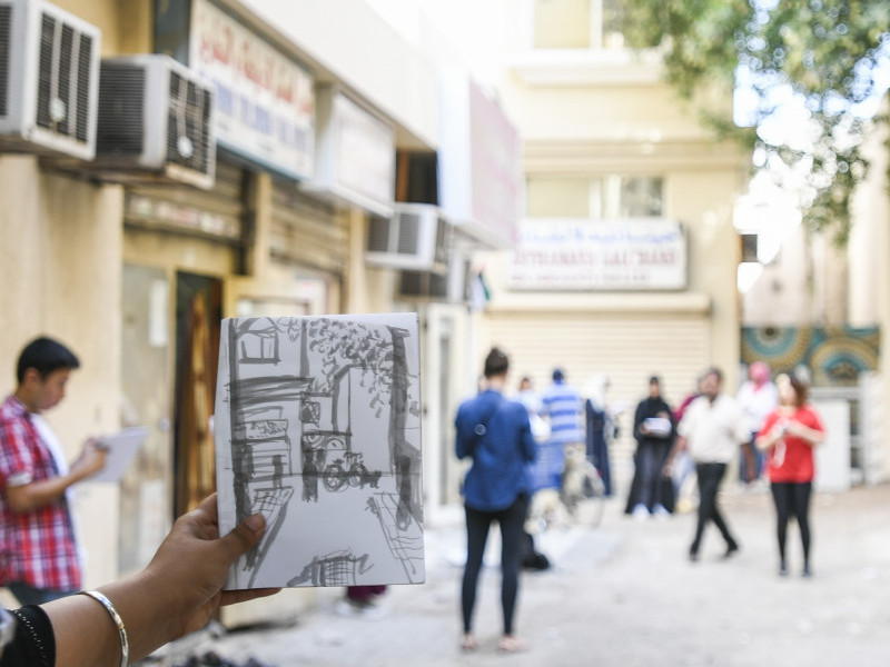 #SAFneighbourhood Workshop: Storytelling through Footsteps