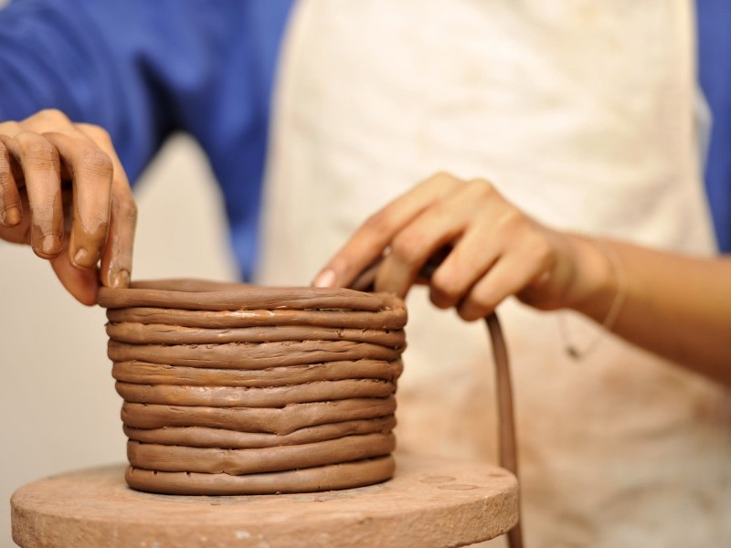Making a Ceramic Container
