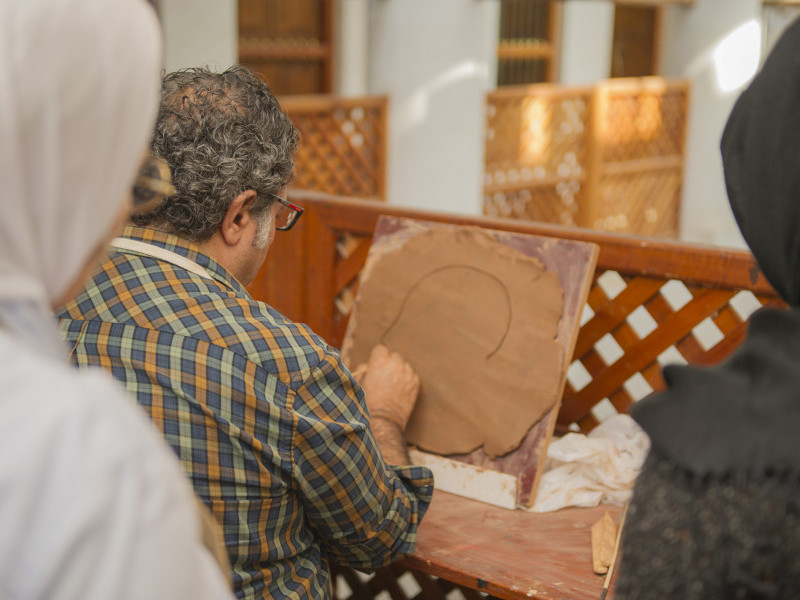 Sculpting Arabic and Islamic Architecture