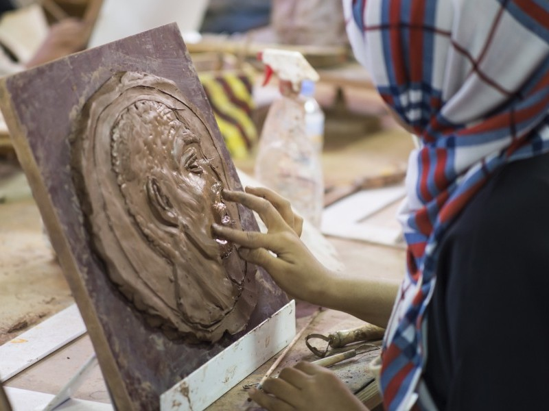 Sculpting with Clay