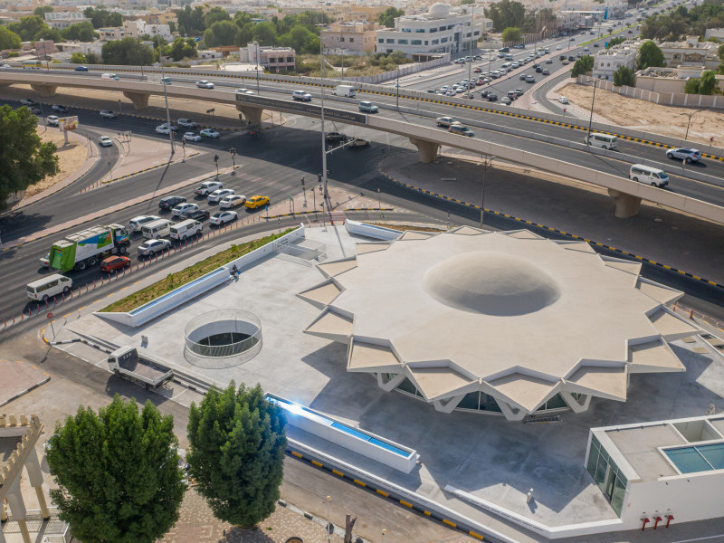Sharjah Art Foundation Completes Renovation of Iconic Brutalist Building, 'The Flying Saucer'