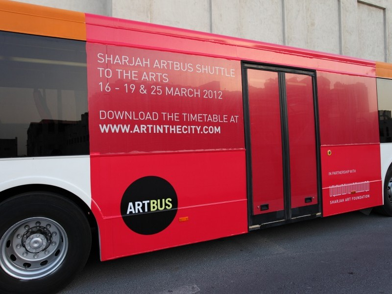 Visit Sharjah Biennial 11 with the ArtBus