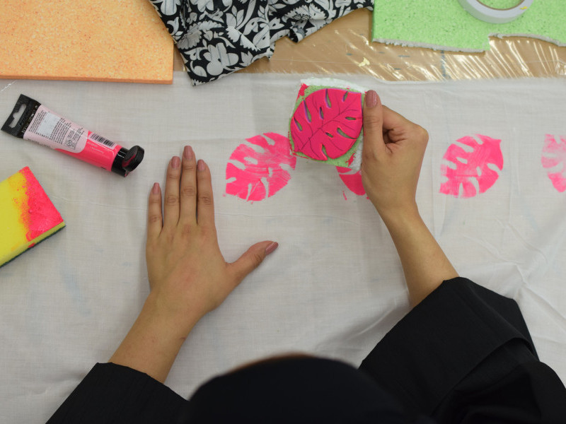 Focal Point 2020 Learning Programme: Fabric Painting