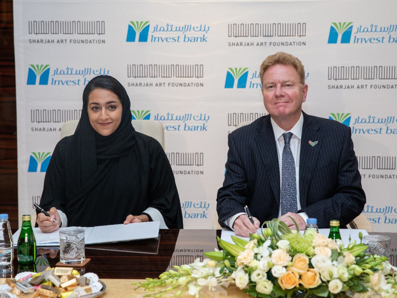 Invest Bank and Sharjah Art Foundation Sign Sponsorship Agreement