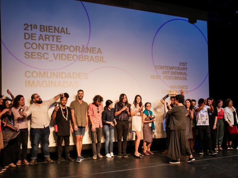 Nelson Makengo awarded SAF Residency Prize at SESC_Videobrasil Biennial