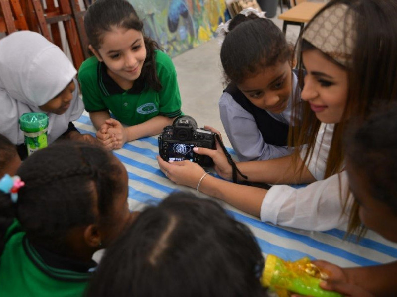 Learn Photography Basics at the Sharjah Children's Film Festival