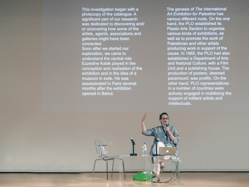 MM 2015: Past Disquiet: Transforming Research into Exhibition