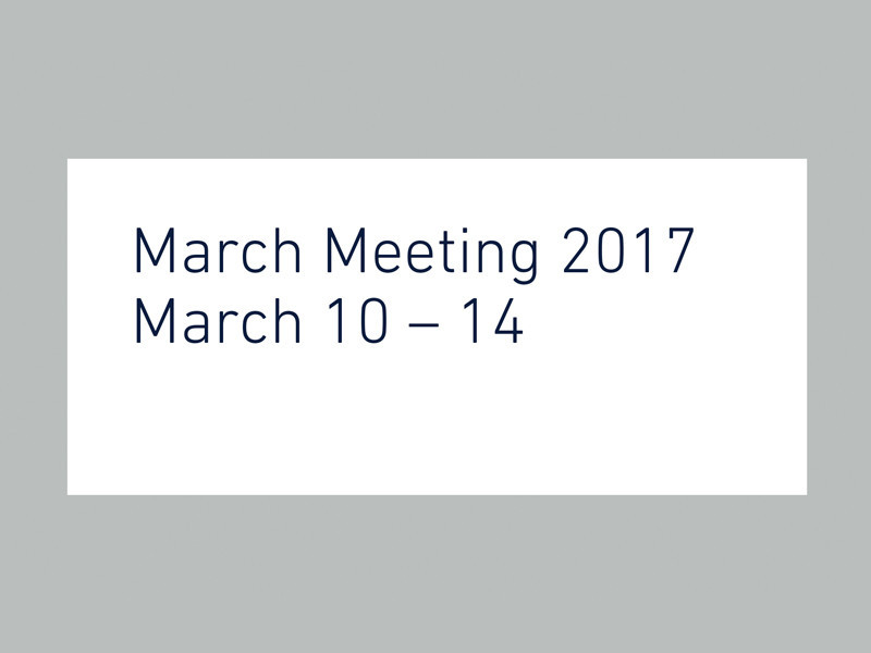 March Meeting 2017 Details Announced