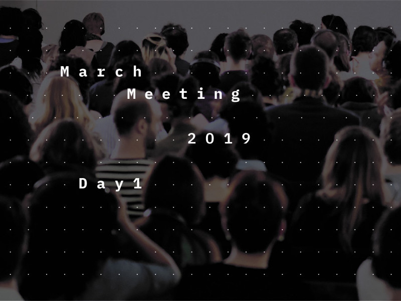 March Meeting 2019: Look for Me All Around You