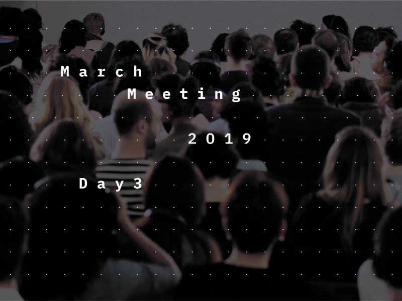 March Meeting 2019: Create Dangerously
