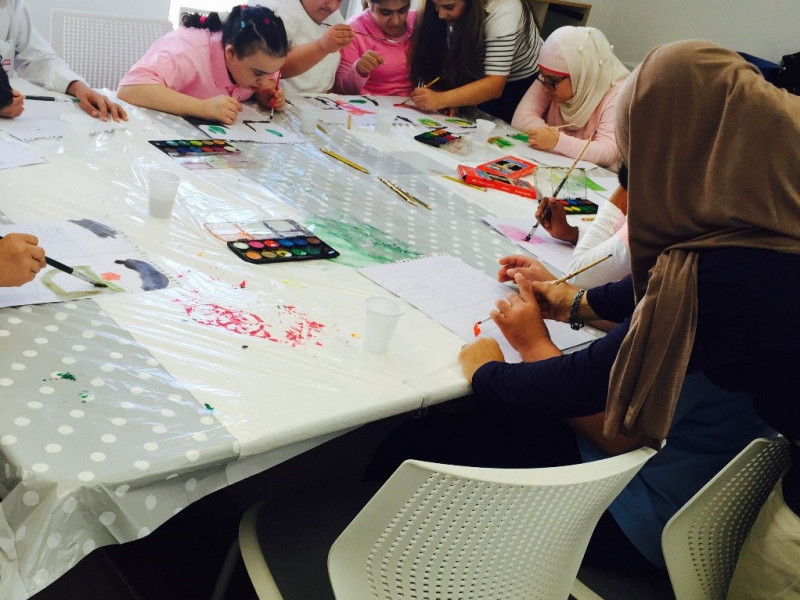 Make Your Own Movie Poster at the Sharjah Children's Film Festival