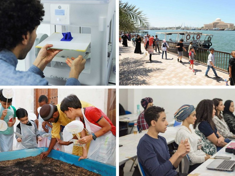 SAF Announces Sharjah Biennial 13 School Programme