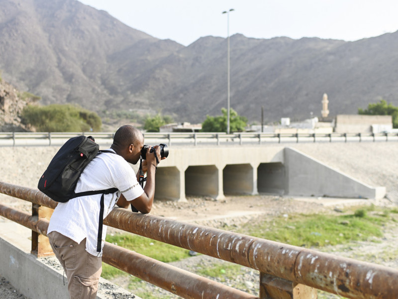 Photographing Landscapes in Khorfakkan