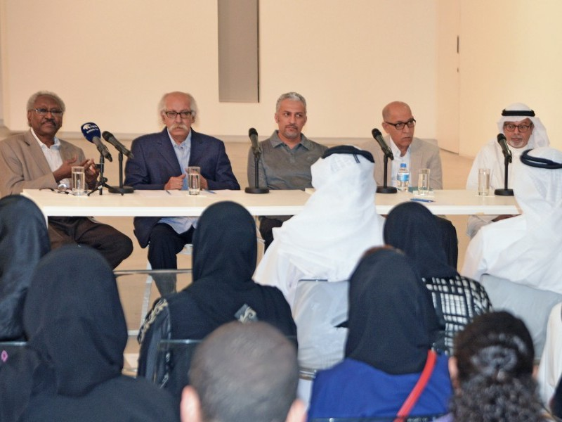 SAF hosts a panel of leading figures in the early UAE contemporary art world