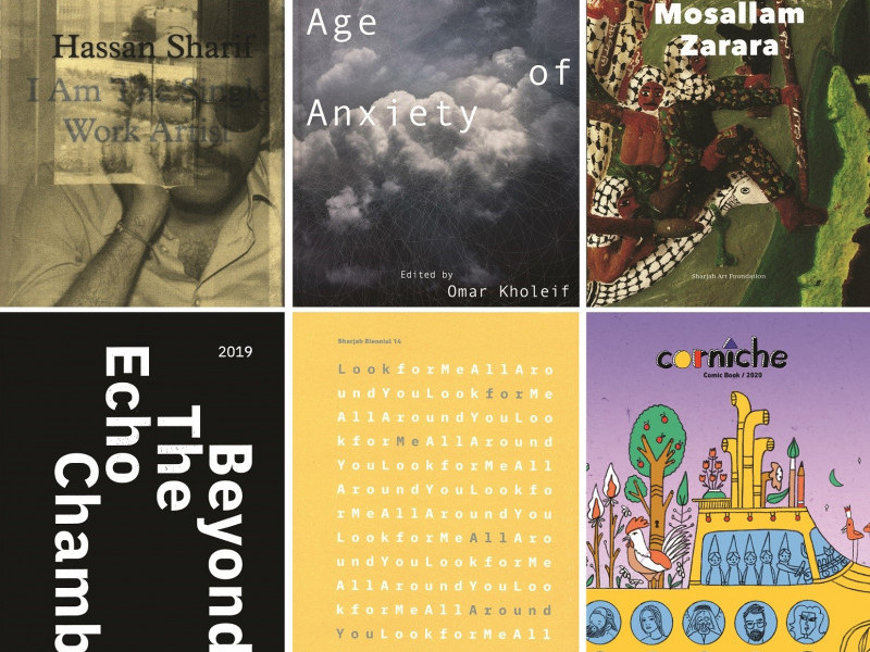 Sharjah Art Foundation releases six major new publications this year