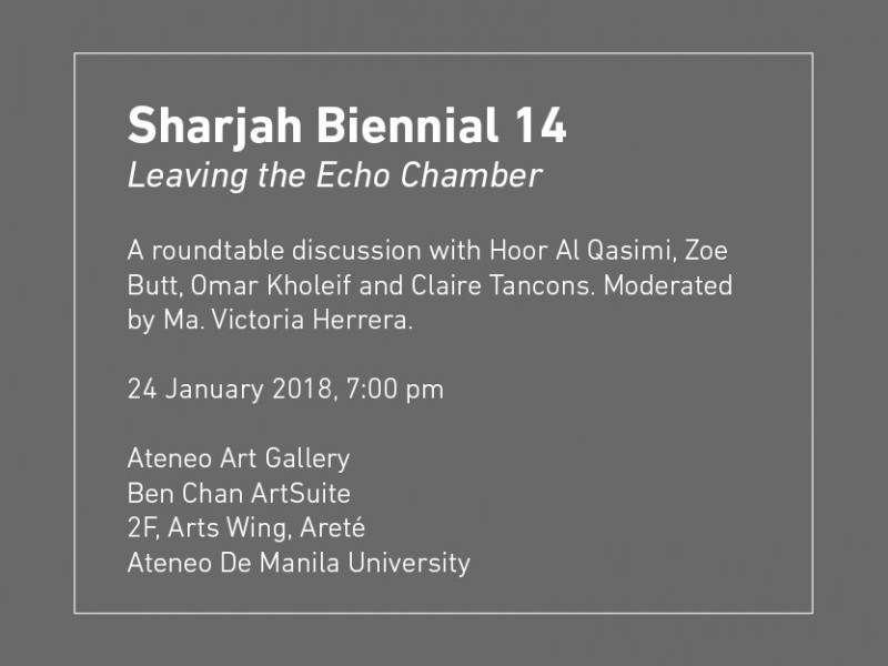 Sharjah Biennial 14: Leaving the Echo Chamber Guidebook