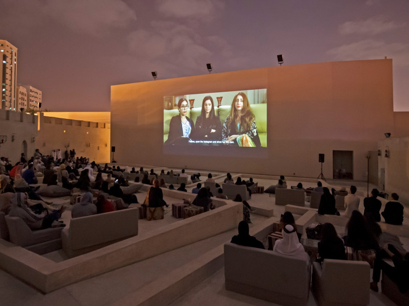 Sharjah Film Platform Opened With Programme of Film Screenings, Talks and Workshops
