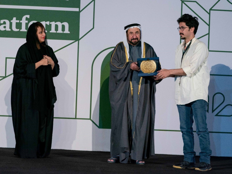 HH Sheikh Dr Sultan bin Mohammed Al Qasimi Attends the Closing Ceremony of Sharjah Film Platform's Second Edition