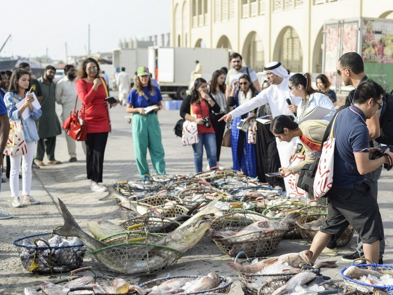 Excursion and Workshop: The Sensory Experience of Sharjah's Fish Market and Auction