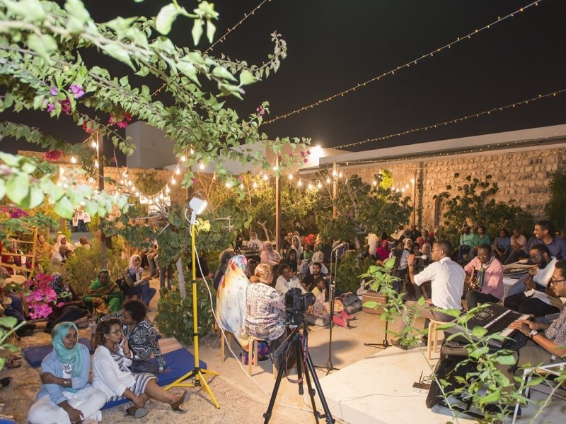 A Night of Poetry and Music in SAF Urban Garden