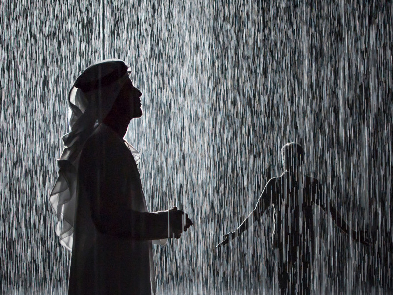 Dance Performance by Company Wayne McGregor at Rain Room