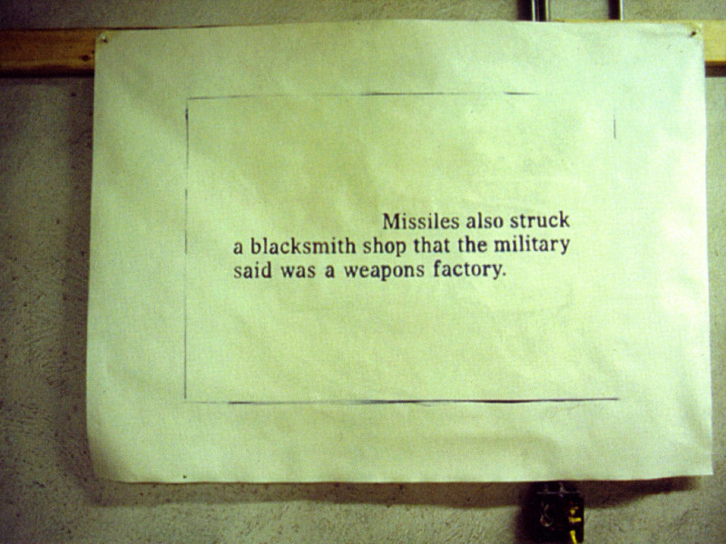 Missiles also…